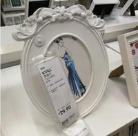 【IKEA/宜家国内代购】 克维尔   画框, 白色 相框 相片架 相片框