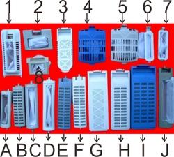 适合美的荣事达小天鹅洗衣机过滤网 多种规格 原装配件 打折 减价