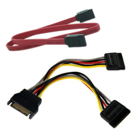 SZS Hot 6in SATA Power Y Splitter Cable Adapter - M/F