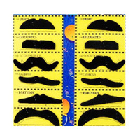 Stylish Self Adhesive Fake Mustaches Costume Party Disguise