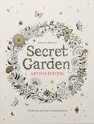 【亚马逊图书】Secret Garden Artist's Edition: A Pull-Out and Frame Colouring Book