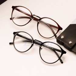 Fashion Women Men Cat eye Glasses Eyeglasses Plain Mirror Ro