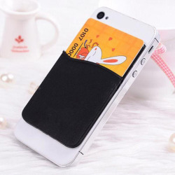 New Adhesive Sticker Back Cover Card Holder Case Pouch For C