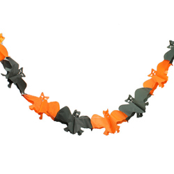 Gift Bat Halloween paper Decoration Prop