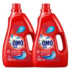 奥妙洗衣液 深层洁净  源自天然酵素 3KG+3KG家庭装