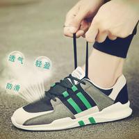 春季男士运动休闲男鞋韩版潮流百搭跑步潮鞋夏季透气网鞋板鞋布鞋