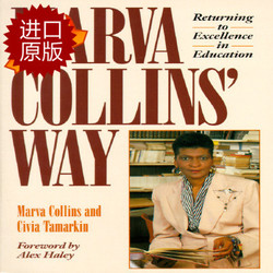 现货!Marva Collins' Way:Updated马文柯林斯的教育方法 英文原版 马文科林斯