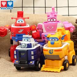 正版超级飞侠多多变形工具车 乐迪消防工程车男孩玩具机器人套装