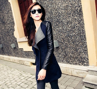 2016 New women's fashion personality temperament elegant lon