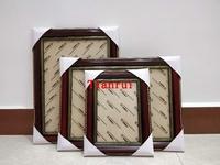 木质证书框a3三证合一营业执照框A4相框摆台授权书框餐饮服务