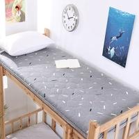 学生宿舍床垫寝室单人0.9m大学上下铺超软加厚折叠90cm床190cm1米