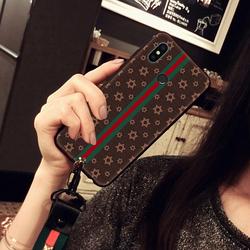 小米6X手机壳带挂绳挂脖小米8se欧美潮壳保护壳红米note5硅胶软套