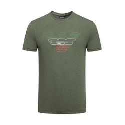 EMPORIO ARMANI/阿玛尼2018男装新款撞色短袖T恤3Z1T90-1J11Z