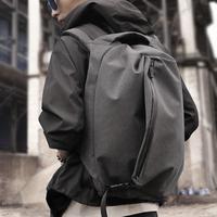 双肩包男休闲背包电脑包大容量旅行包学生简约书包男青年时尚潮流