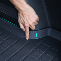 宝沃BX5专用尾箱垫 bx7全包围立体后备箱垫防水环保TPO尾箱垫改装