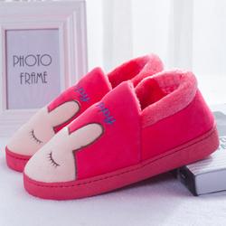 秋冬季棉拖鞋男女室内包跟厚底保暖鞋月子鞋包跟情侣居家家居拖鞋