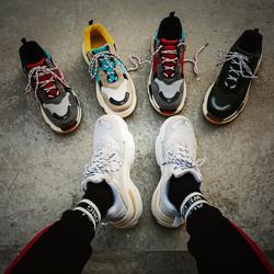 夏季ins超火的鞋子男生网红同款情侣老爹鞋运动鞋韩版潮流小白鞋