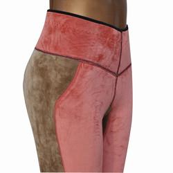 加长护膝 超细绒暖贝鹅保暖裤2829 修身显瘦泳布棉裤高腰收腹防寒