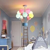 儿童房灯气球吸顶灯温馨浪漫卧室灯男孩现代简约女孩创意房间灯具