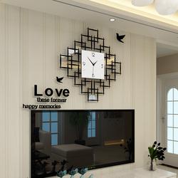 石英钟表欧式时钟挂钟客厅个性创意时尚现代简约餐厅装饰静音挂表