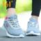 361女鞋 跑步鞋夏季2017新款运动休闲鞋网面透气跑鞋361度跑鞋