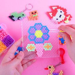 儿童手工diy制作神奇水雾魔法珠男孩女孩玩具益智拼豆水粘珠包邮