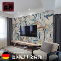 定制客厅电视背景墙壁纸无纺布墙纸无缝墙布北欧风格艺术创意壁画