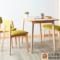 北欧实木餐桌椅组合现代简约小户型家用餐桌客厅长方形饭桌长凳