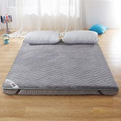 加厚床垫1.5米床折叠榻榻米打地铺保暖床褥子1.8m1.2米学生0.9m垫
