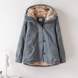 反季棉袄2018新款韩版短款学生面包服羊羔绒棉衣服冬季外套女加厚