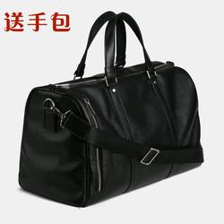 真皮男士手提旅行包男大容量出差必备手拎旅游行李包袋牛皮登机包
