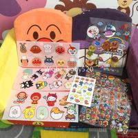 日本防水宝宝儿童健康安全纹身贴 面包超人车笔记本冰箱装饰贴纸