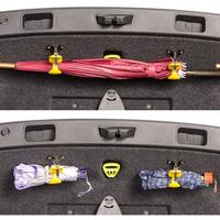 汽车通用后备箱雨伞固定架夹多功能收纳整理车内挂钩车用雨伞挂钩