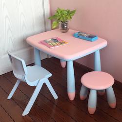 升级新款加厚儿童桌椅幼儿园桌椅宝宝桌学习书桌加固小孩桌椅套装
