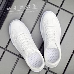百搭潮鞋夏季小白鞋男士休闲白鞋运动板鞋白色韩版潮流男鞋子秋季