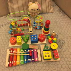 婴幼儿童手敲琴8个月八音小木琴男孩女宝宝益智音乐玩具1-2-3周岁