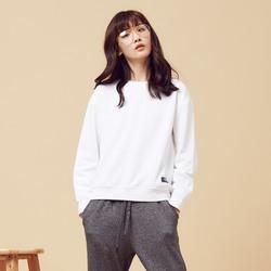 美特斯邦威官方旗舰店卫衣女装秋季新款韩版纯色简约休闲外套