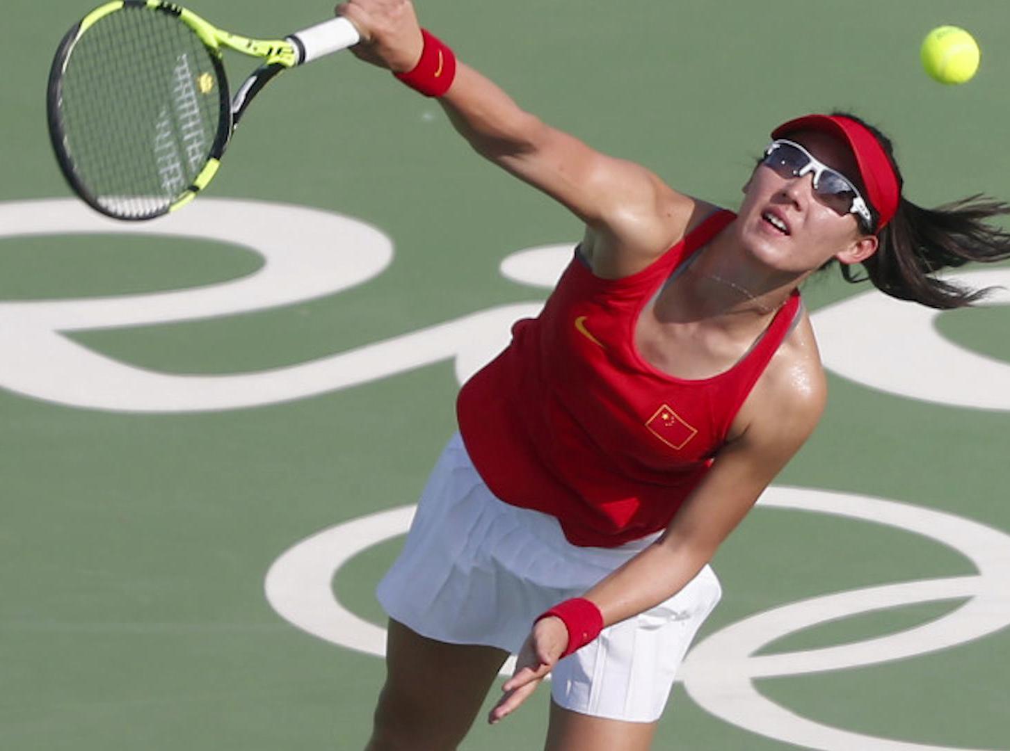 网球女单首轮 郑赛赛爆冷晋级