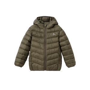 男童棉衣外套连帽轻薄款棉服秋冬季2018新款中大童儿童短款小棉袄