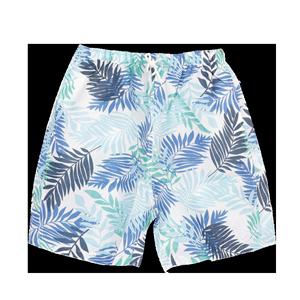 夏季沙滩裤男士短裤运动五分裤速干休闲宽松平角泳裤花大码裤衩