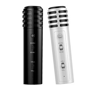 万利达M02全民k歌麦克风手机全名k歌神器唱歌专用带声卡唱吧小话筒家用录音设备全套装苹果安卓通用