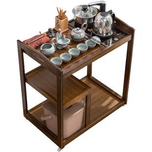 移动茶车家用小茶台现代套装茶桌子