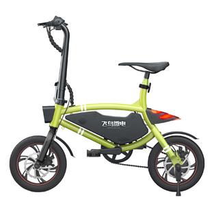 飞鸟微电折叠锂电车亲子电动自行车
