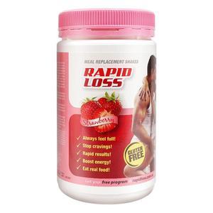 澳洲进口Rapid Loss代餐奶昔750g代餐粉膳食纤维粉低热量低脂饱腹