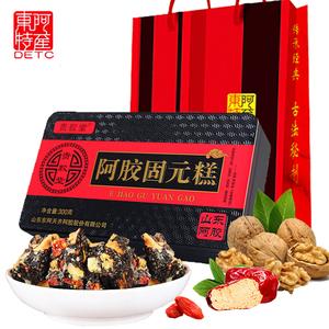 拍2盒 第二盒9.9 山东东阿红枣枸杞阿胶糕即食女士型阿胶固元糕