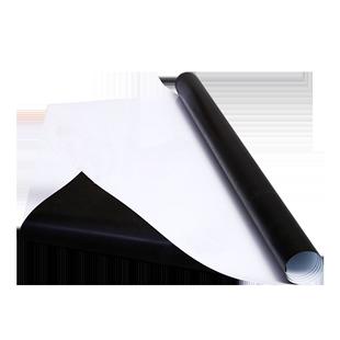 铭升软白板墙贴磁性黑板绿板磁铁可移除白板纸可擦挂式儿童家用办公涂鸦挂式白板墙软铁写字膜