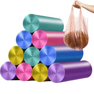 家用加厚垃圾袋黑色塑料厨房拉圾袋