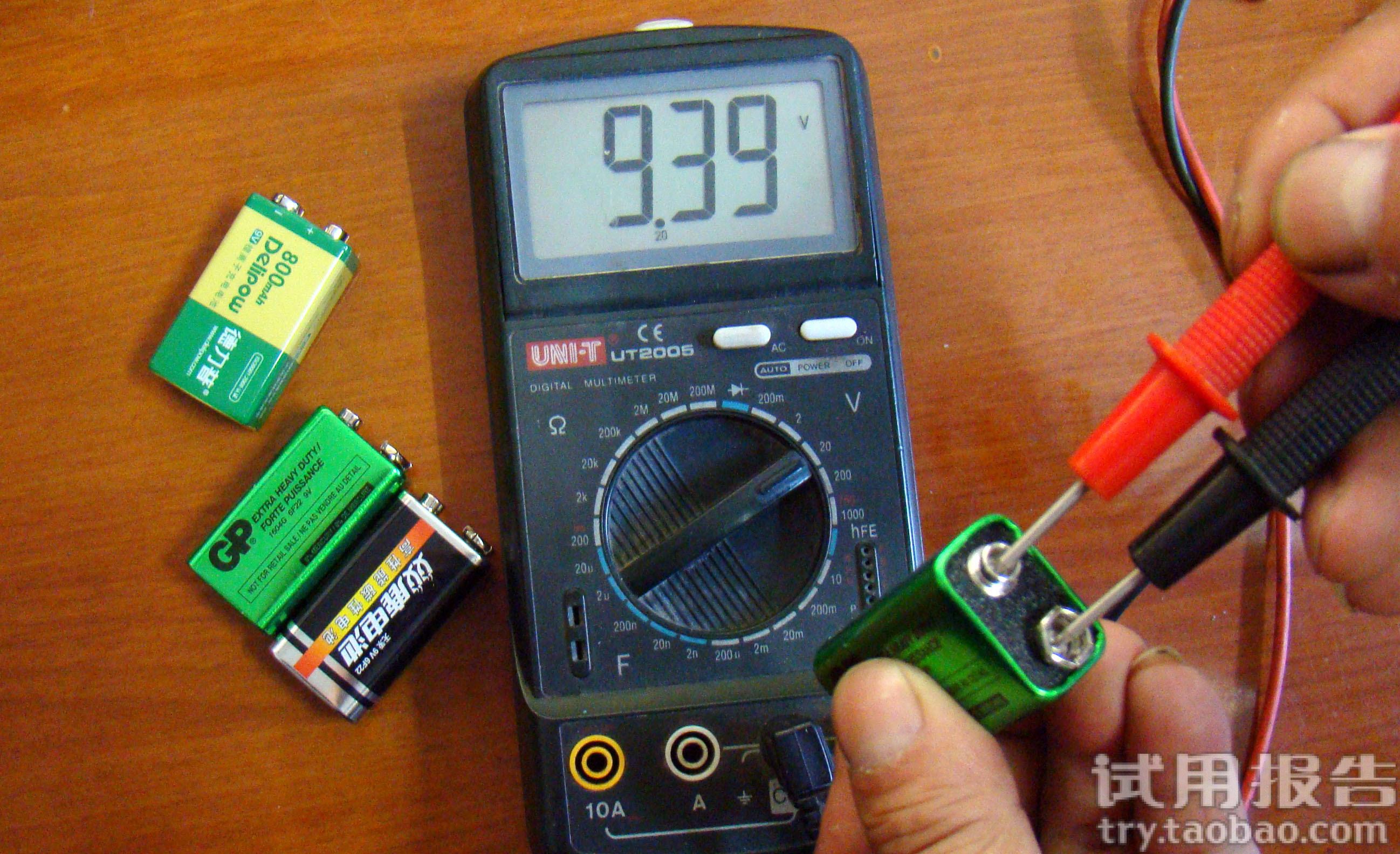 德力普 9v锂电池 麦克风电池图片