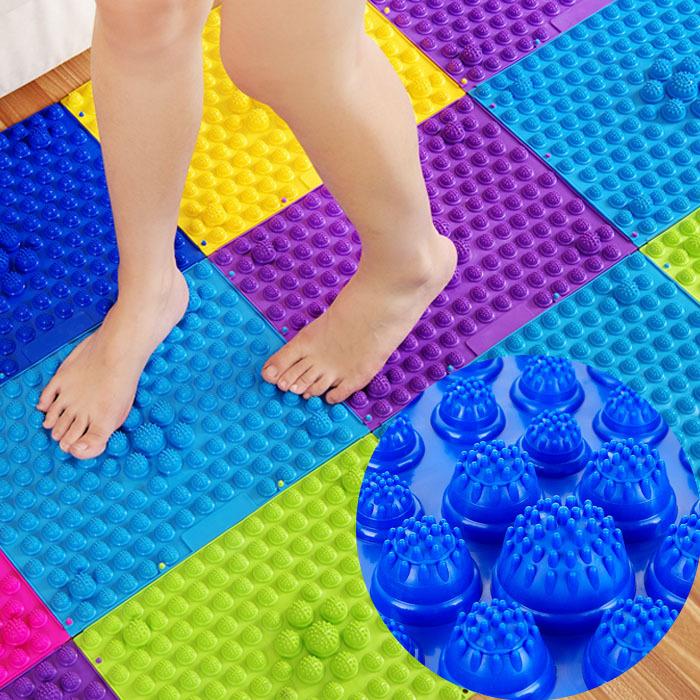 热销新指压板健康走毯脚底足底按摩垫普立金步康走垫仿毯