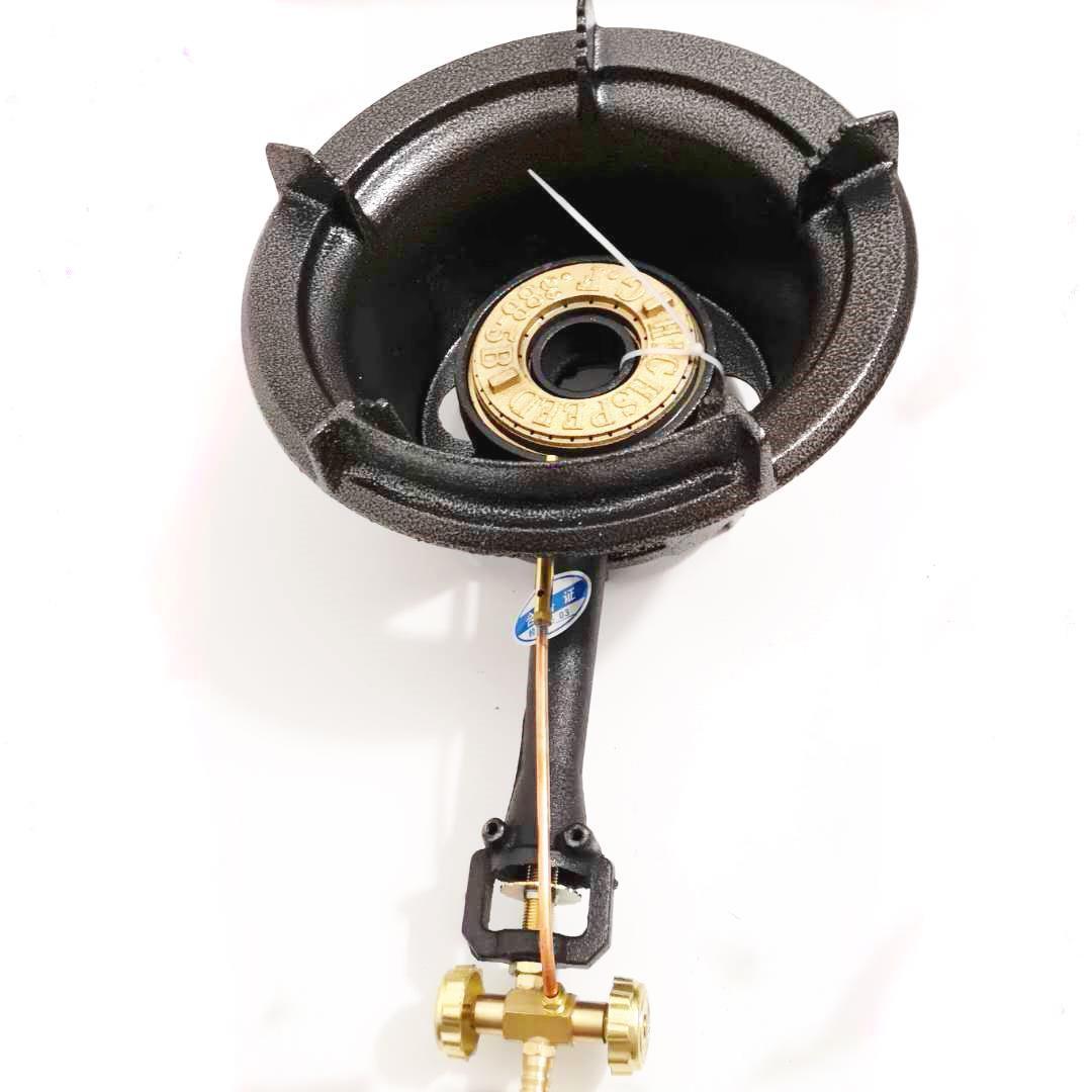 中压煤气灶商用炉商用中高压炉饭店猛火炉商用加厚单个铸铁煤气炉图片